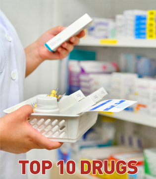 top 10 IVF drugs