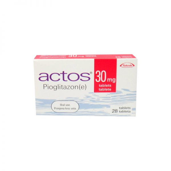 Actos 30mg - 8699456010026
